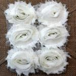 Six Shabby Chic Flowers - ..